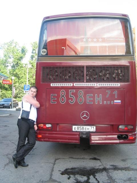 Толкать автобус не пришлось! �? слава Богу!