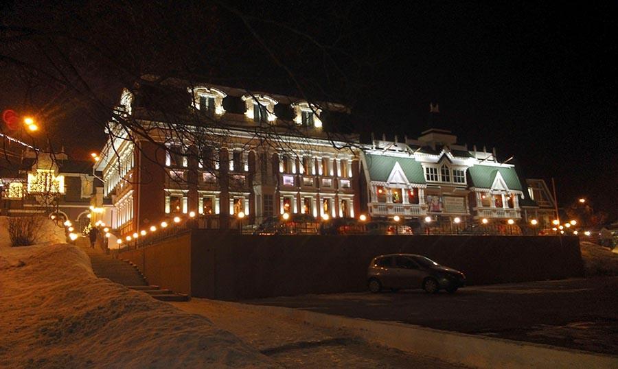 """Ресторан """"Русский дворик"""""""